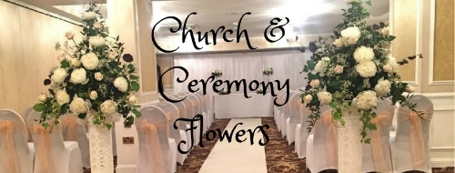 Different Types of Church and Ceremony Wedding Flowers
