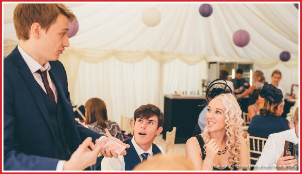 Simon Hughes Close Up Magician for Liverpool Weddings and Events