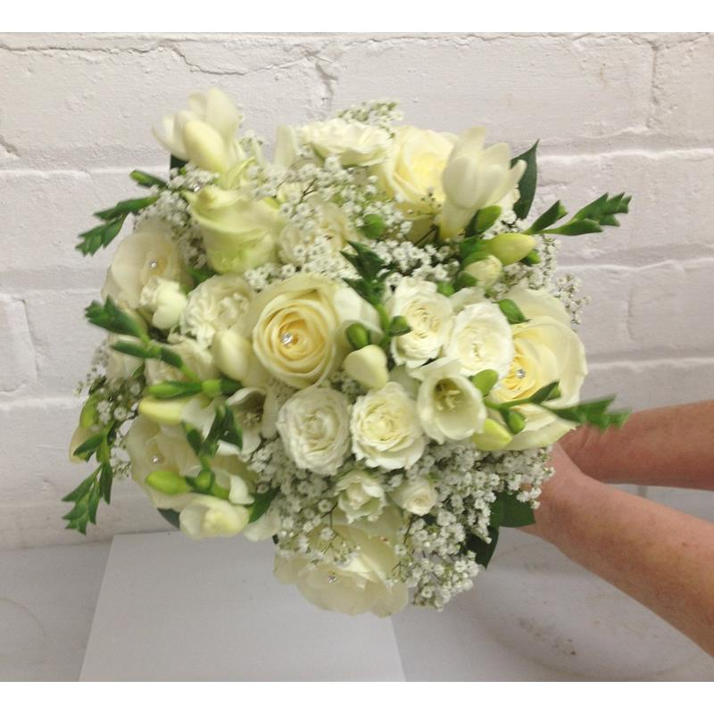 Wedding Flowers Liverpool, Merseyside, Bridal Florist,  Booker Flowers and Gifts, Booker Weddings | Anna and Paul 2