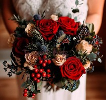 Wedding Flowers Liverpool, Merseyside, Bridal Florist,  Booker Flowers and Gifts, Booker Weddings | Christina and Rich