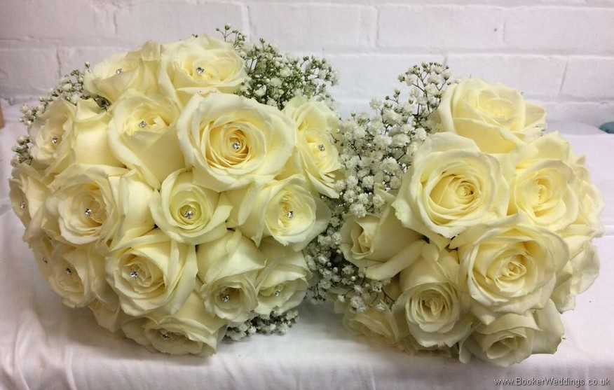 Wedding Flowers Liverpool, Merseyside, Bridal Florist,  Booker Flowers and Gifts, Booker Weddings | Claire and Barry