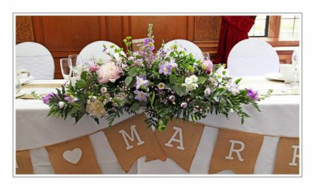 Wedding Flowers Liverpool, Merseyside, Bridal Florist,  Booker Flowers and Gifts, Booker Weddings | Dawn and Alex