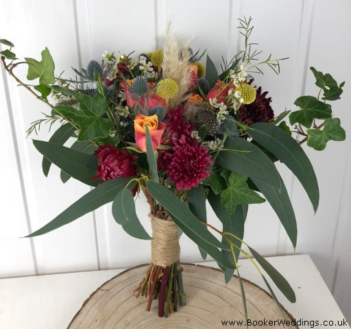Wild and Rustic Wedding Bouquet