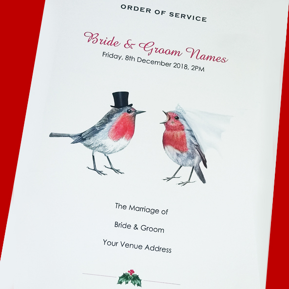 Robin Order of Service