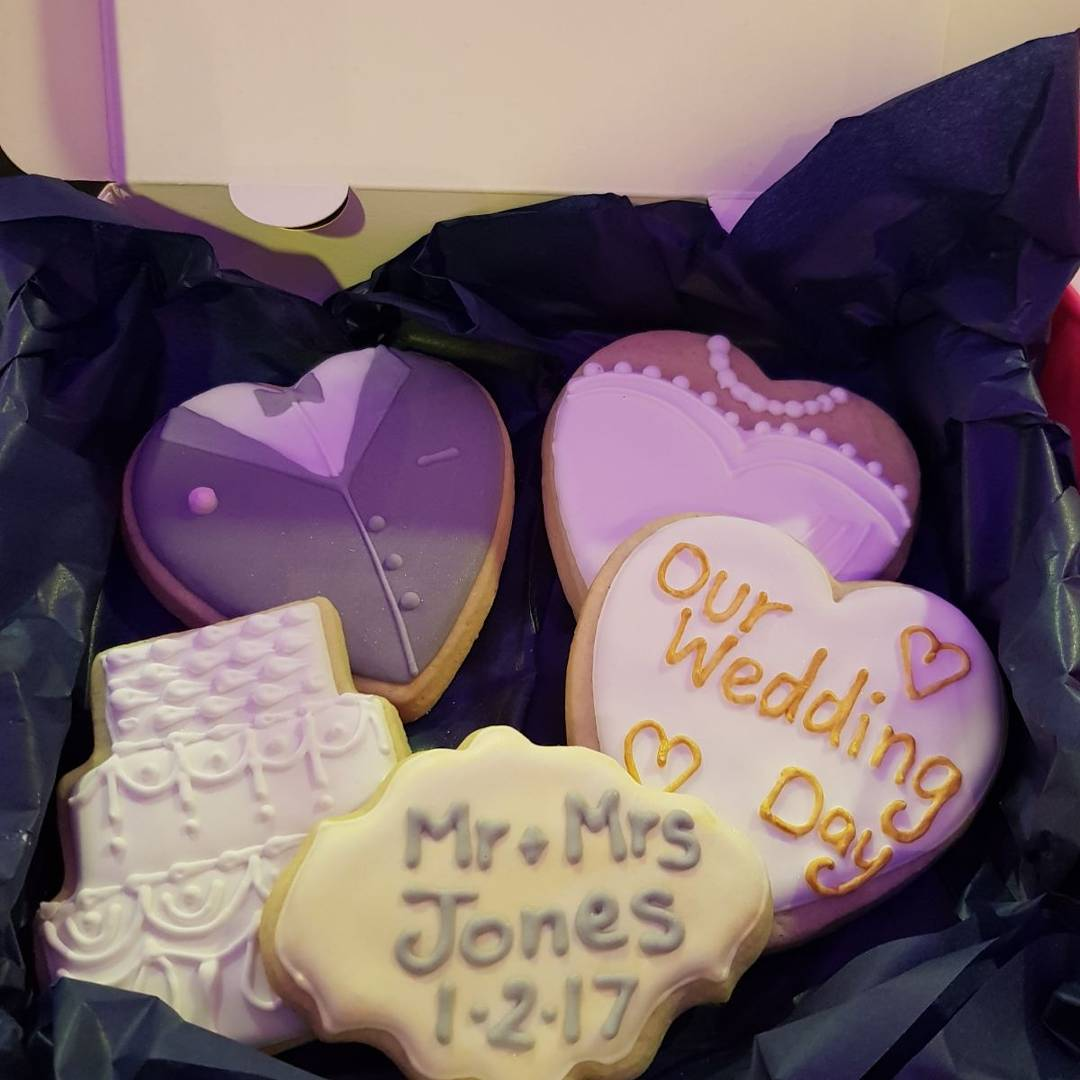 Biscuit Wedding Favour